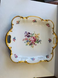 Nice hand painted porcelain table decor