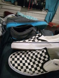 Vans  size 6 youth slip on shoes