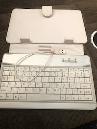 Keyboard cover case for tablet