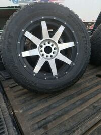 """20"""" rims 95% tire life 5 lugs for ford and dodge Houston, 77012"""
