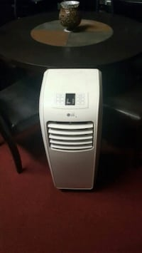 white LG portable air conditioner Long Beach, 90805
