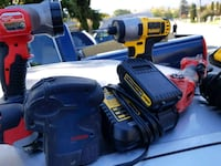 yellow and black DeWalt cordless power drill Surrey, V3S 2S2