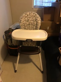 Graco high chair booster seat