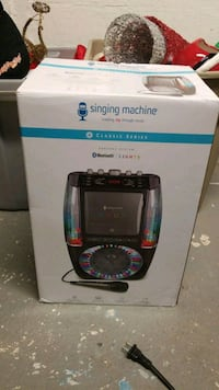Singing Machine - AGUA CD+G Karaoke System - Black Cheshire, 06410