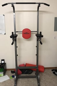 Multi function home workout rack