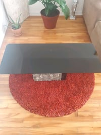 1 Coffee table, 1 side table ,   café  ,granite & marble