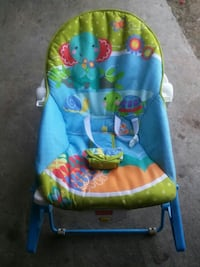 baby's blue and green bouncer Atwater, 95301