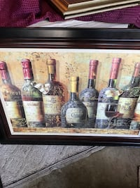 Large Wine Decor 31/2 by 21/2 ft Swansea, 62226