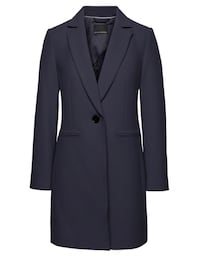 Women's Navy blue Wool Jacket  546 km