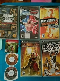 Assorted psp games Tappan, 10983