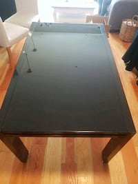 Black Glass Top Expandable Tabe New Westminster, V3M 5B1