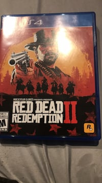 Red dead 2 brand new open hasn't been even in Ps4  Brant