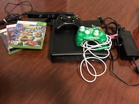 Black xbox 360 console with controller and games Richmond Hill, L4C 8R7