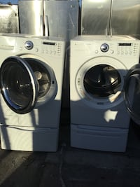 Set washer and gas dryer LG San Leandro, 94577