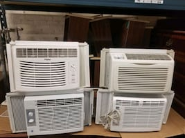 Reconditioned air-conditioners ALL powered washed