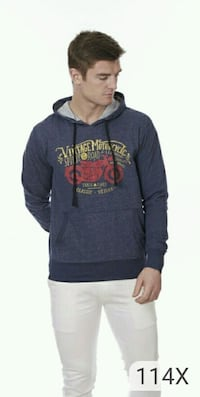 men's black and gray pullover hoodie Ahmedabad
