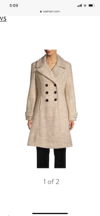 Ivanka Trump Fit and Flare Double-Breasted Coat Ashburn, 20148