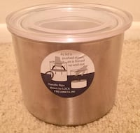Stainless Steel Kitchen Canister 32oz Speedway, 46224