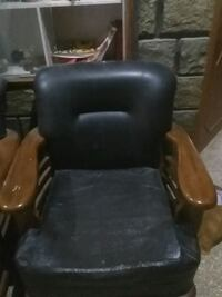 black leather padded rolling armchair Bengaluru, 560043