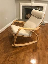 white and brown wooden armchair Arlington, 22207