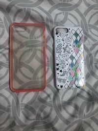 white and red iPhone case Brant, N0E