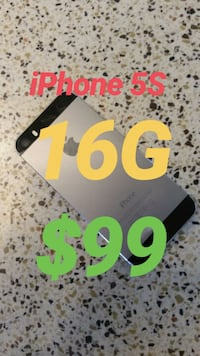 iPhone 5S / 16G / Unlocked / Space Grey Vaughan, L4L 1A6