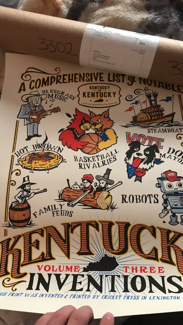 Kentucky inventions print