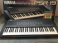 black and white electronic keyboard Modesto, 95354
