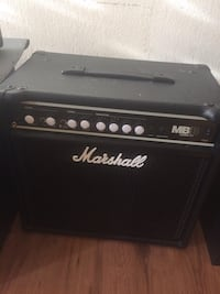 black and gray Marshall guitar amplifier 547 km