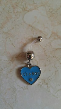 unpaired blue and silver it's a Boy-embossed dangl Calgary, T2A 6C8
