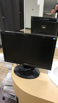 Computer monitor with built in speakers and hdmi port price negotiable Greenfield, 46140
