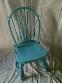 teal wooden rocking chair Gore, 22637