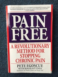 Pain relief book Wasaga Beach, L9Z 2V7