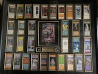 Super Bowl Ticket Collection Framed