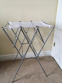 Clothing drying rack used once  Sandy, 84092
