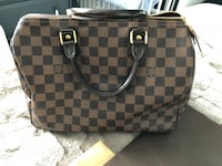 Damier ebene louis vuitton tote bag