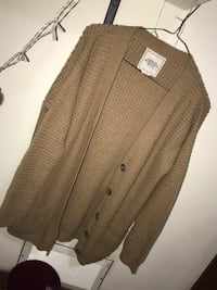 brown button-up cardigan Winnipeg, R2W