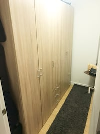 3 light pine wardrobes $200 a piece (deal if all 3 bought together)