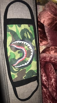 green and black camouflage print wallet Richmond, V6X 3X8