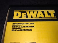 Dewalt still sealed in box Never Open. Open it yourself here and try it before you buy it!!! San Elizario, 79849