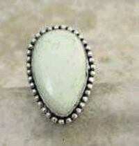 imperial jasper RING 925 sterling silver, size 9.2