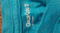 teal GapKids v-neck top