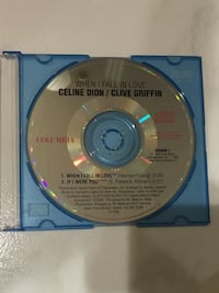 Celine Dion/Clive Griffin < When I Fall In Love > CD Hougang, 530971