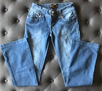 Size SMALL / GIRLS boot cut by UB jeans Mont-Royal, H3P