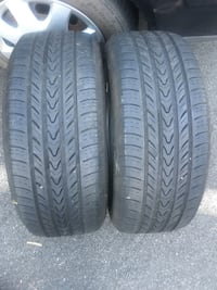 2 tires 205/55r16 Michelin $60 Leesburg, 20176