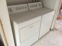 Barely used washer and dryer Denver, 80206