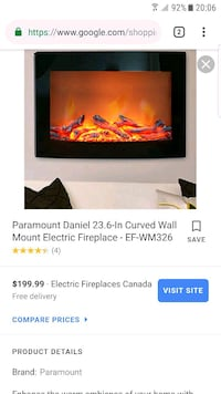 Electric heater fireplace Burnaby, V5E 1Y9