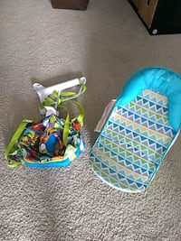 Summer Infant Deluxe Baby Bather & Johnny Jump Up Doorway Bumbly Jumper Arlington, 22202