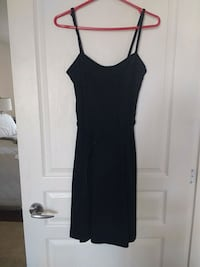 black spaghetti strap mini dress Vancouver, V6K 2N2