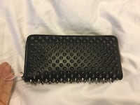 Christian Louboutin classic spiked wallet Toronto